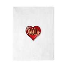 Angola Heart Twin Duvet