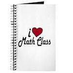I Love Math Class (Back to School) Journal