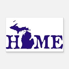HOME - Michigan Rectangle Car Magnet