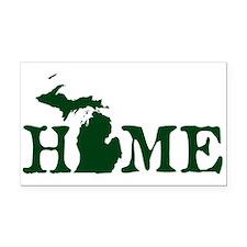 HOME - Michigan Rectangle Car Magnet
