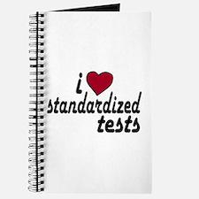 I Love Standardized Tests Journal