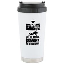 ScubaGrandpaK Travel Mug