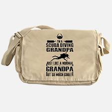 ScubaGrandpaK Messenger Bag