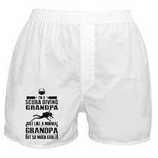 ScubaGrandpaK Boxer Shorts