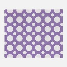 Unique Retro dots Throw Blanket
