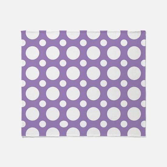 Cute Polka dot Throw Blanket