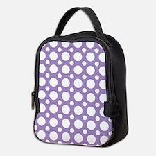 Cute Polka dot Neoprene Lunch Bag