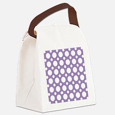 Unique Dot Canvas Lunch Bag