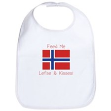 Cute Norway pride Bib