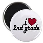 I Love 2nd Grade Magnet