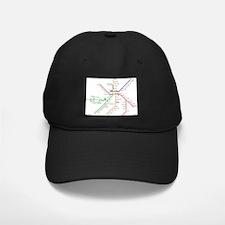 Boston Rapid Transit Map Subway Metro Baseball Hat