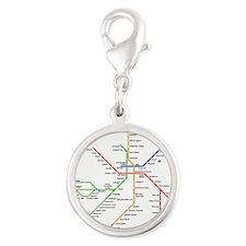 Boston Rapid Transit Map Subway Metro Charms