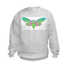 Psychedelic Cicada Sweatshirt