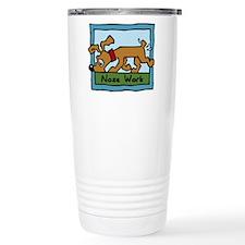 Nose Work Puppy Sniffing Travel Mug