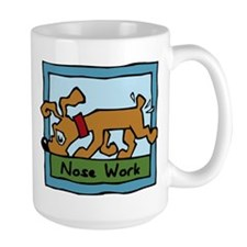 Nose Work Puppy Sniffing Mugs