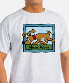 Nose Work Puppy Sniffing T-Shirt