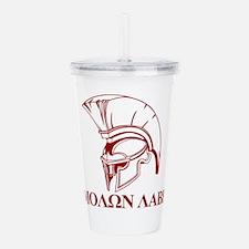 Spartan Greek Molon Labe Come and Take it Acrylic