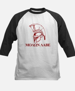 Spartan Greek Molon Labe Come and Take it Baseball