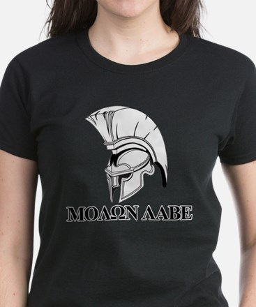 Spartan Greek Molon Labe Come and Take it T-Shirt