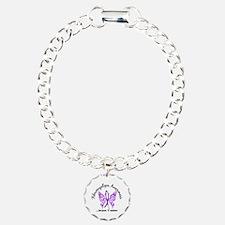 Fibromyalgia Butterfly 6 Bracelet