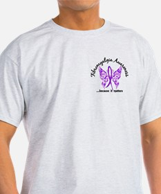 Fibromyalgia Butterfly 6.1 T-Shirt