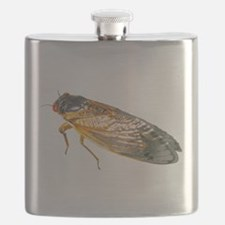 Red Eyed Magicicada Flask