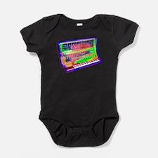 Modular analog electronic synthesize Baby Bodysuit