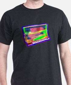 Modular analog electronic synthesizer Moog T-Shirt