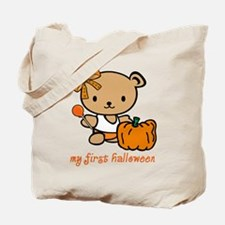 My First Halloween (Girl) Trick or Treat Bag