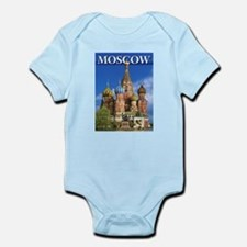 Moscow Kremlin Saint Basil's Cathedral R Body Suit