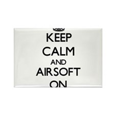 Keep calm and Airsoft ON Magnets