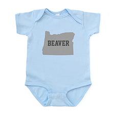 Oregon Beaver Body Suit