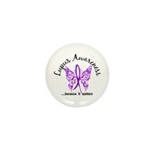 Lupus Butterfly 6.1 Mini Button (10 pack)