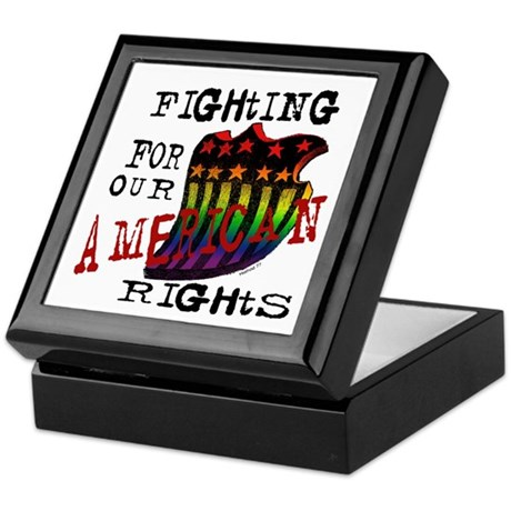 Our American Rights Keepsake Box