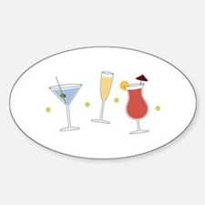 Cocktail Party Decal