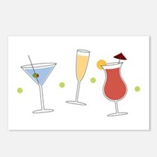 Cocktail Party Postcards (Package of 8)