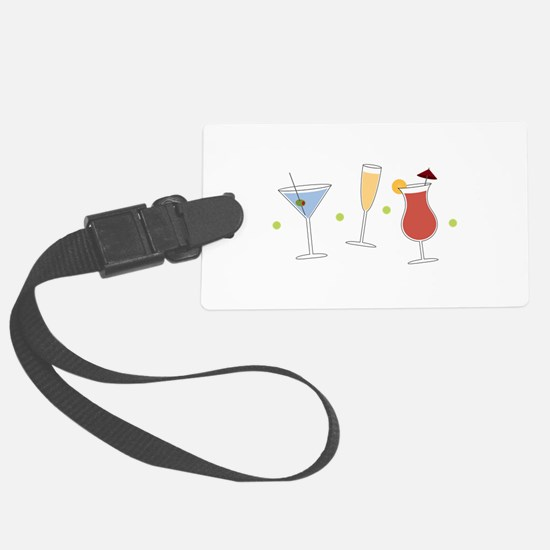 Cocktail Party Luggage Tag
