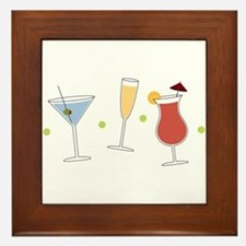 Cocktail Party Framed Tile