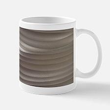 Golden Metal Waves Mugs