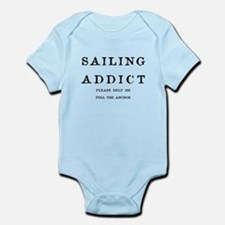 Sailing Addict Please Help Me Funny Body Suit