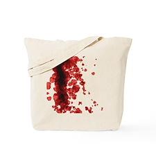 Bloody Mess Tote Bag
