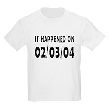 02/03/04 T-Shirt