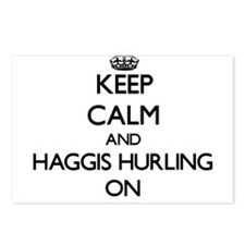 Keep calm and Haggis Hurl Postcards (Package of 8)