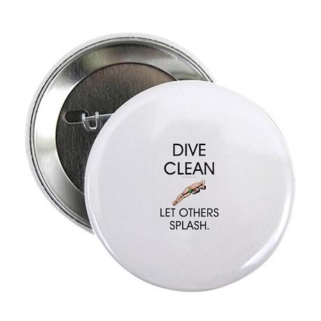 "Dive Clean 2.25"" Button (10 pack)"