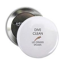 """Dive Clean 2.25"""" Button"""