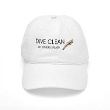 Dive Clean Baseball Cap