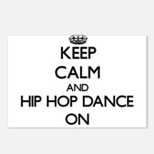 Keep calm and Hip Hop Dan Postcards (Package of 8)