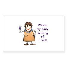 WINE.... Decal