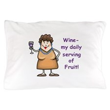 WINE.... Pillow Case