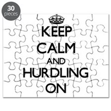 Keep calm and Hurdling ON Puzzle